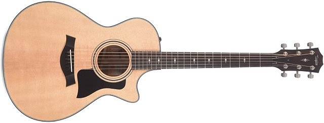 Best Acoustic Guitars Under 00 - Taylor 312ce