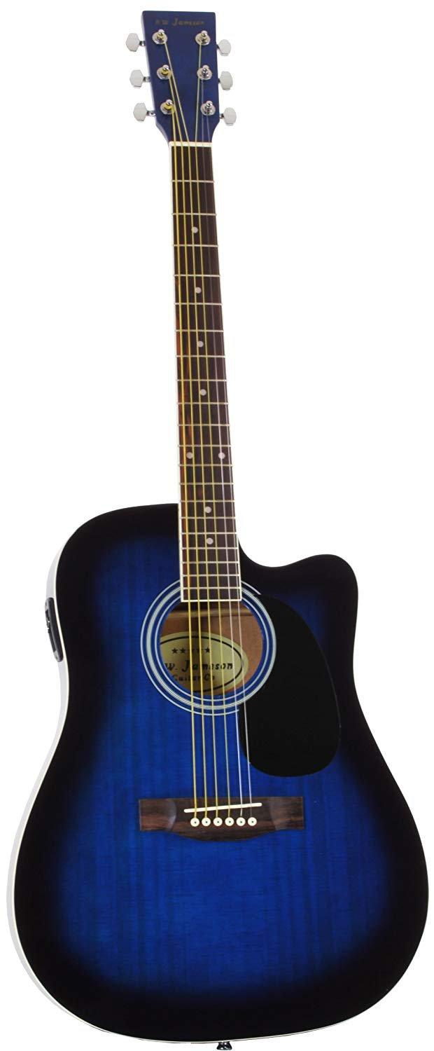 Jameson thinline acoustic electric guitar