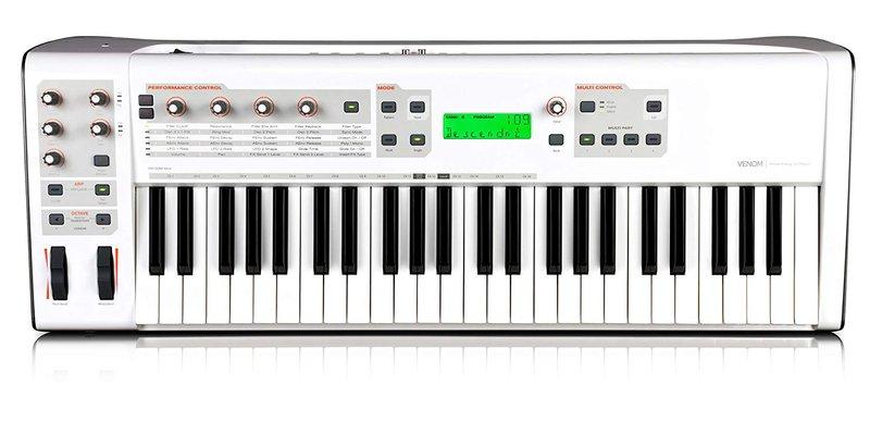 M-Audio Venom 49 MIDI keyboard in white