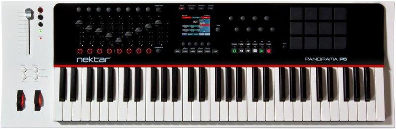 Nektar Panorama P6 MIDI keyboard with 61 keys