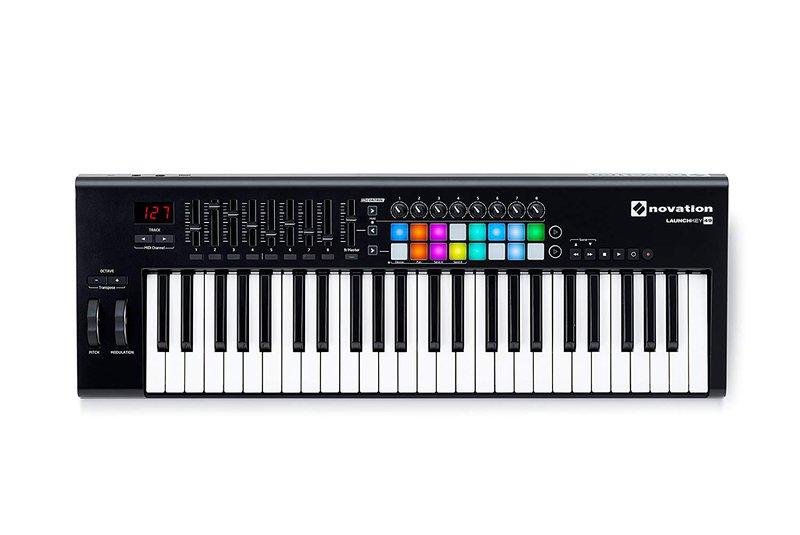 Novation Launchkey49 MIDI Keyboard with backlit pads