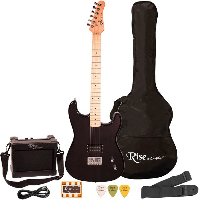Best Electric Guitars Under 0 - Rise by Sawtooth