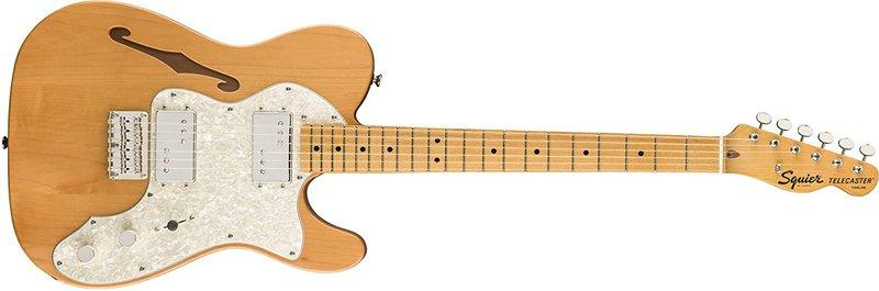 Squier Classic Vive 70's Telecaster Thinline Semi-Hollow Guitars