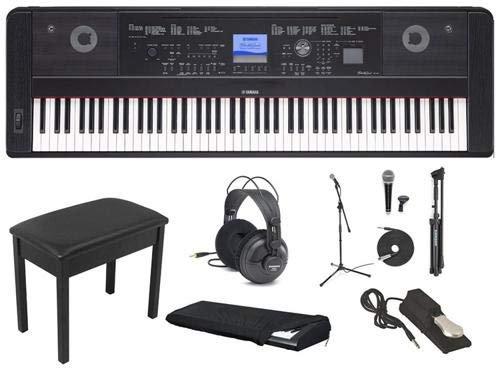 Yamaha DGX-660 Weighted Keys Keyboard