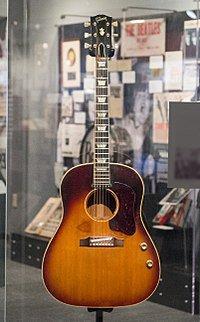John Lennon's Gibson guitar