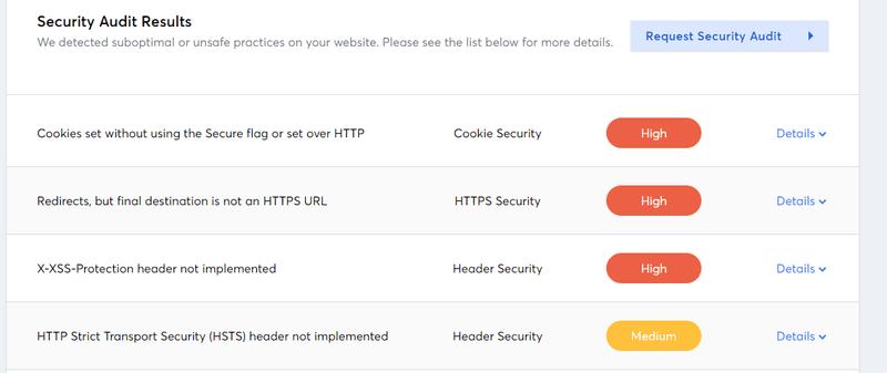 Free Website scanner