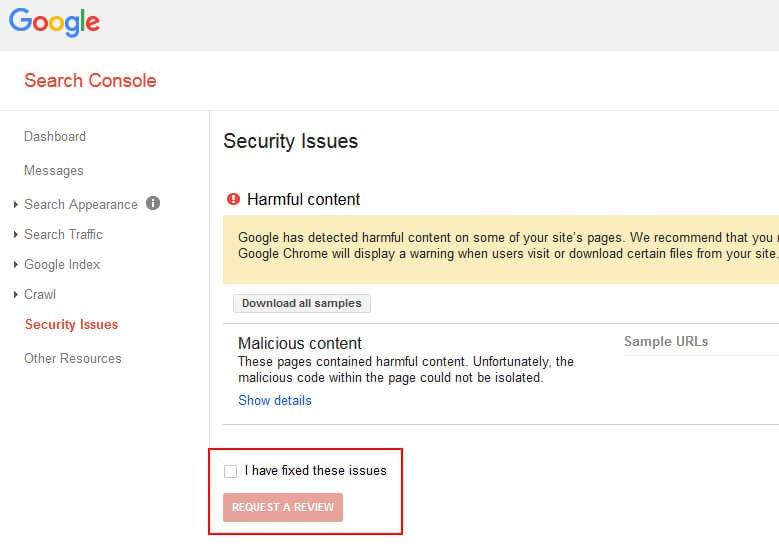 Google Malware Review