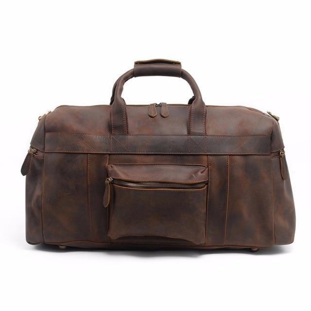 Asta Weekender Leather Bag