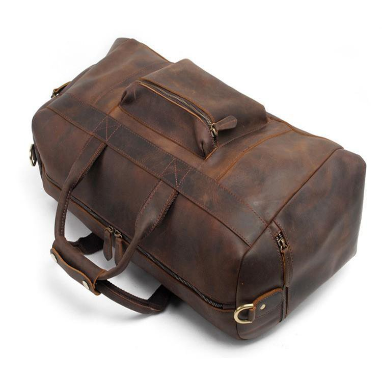 Asta Weekender | Handcrafted Leather Duffle Bag