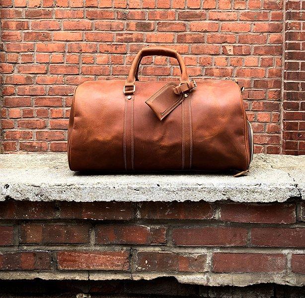 The Dagny Weekender - Full Grain Leather Bag