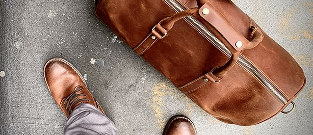 Large Leather Duffel Bags