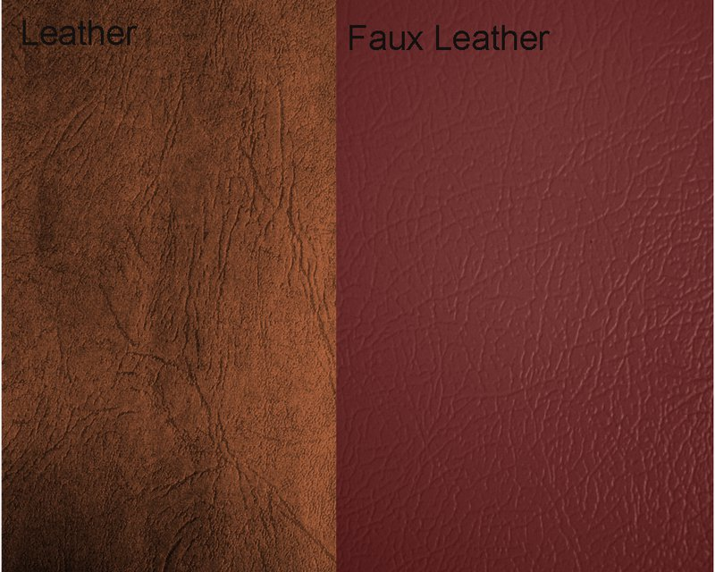 Appearances & Texture of Real and Fake Leather
