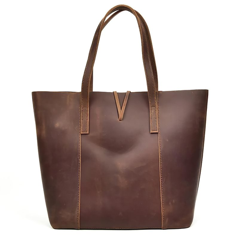 Handcrafted Leather Tote Bag