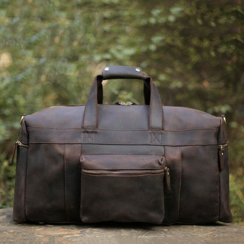 Handcrafted Leather Duffle Bags