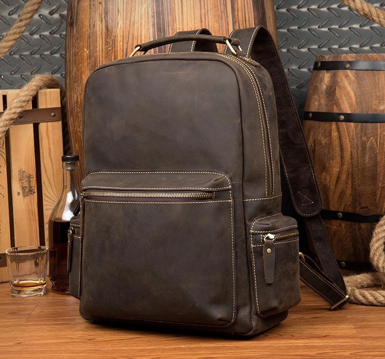 Genuine Vintage Leather Backpacks