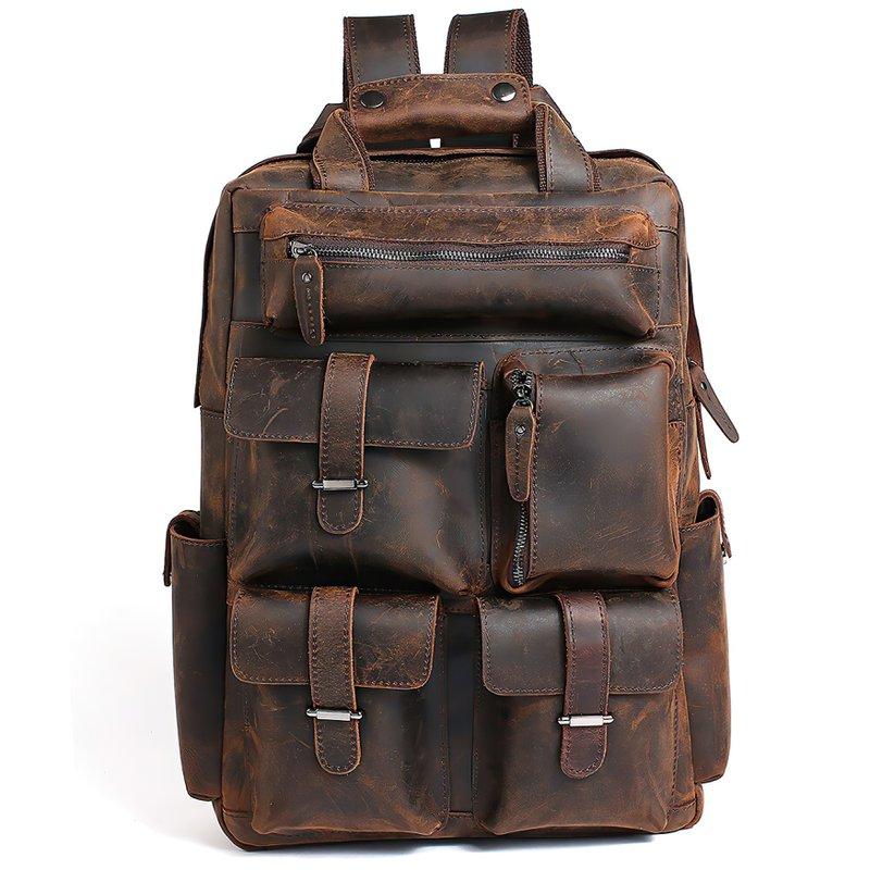 Handmade Genuine Leather Backpacks