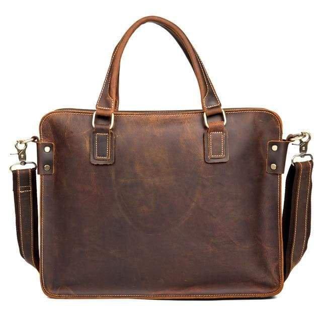 Genuine Leather Messenger Bag gift