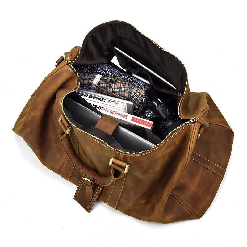 The Bjarke Weekender | Handcrafted Leather Duffle Bag