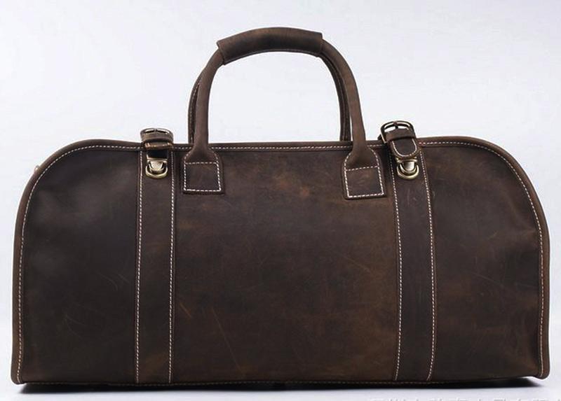 The Erlend Duffle Bag | Vintage Leather Weekender