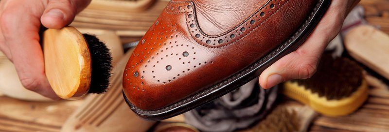 cleaning tooling leather
