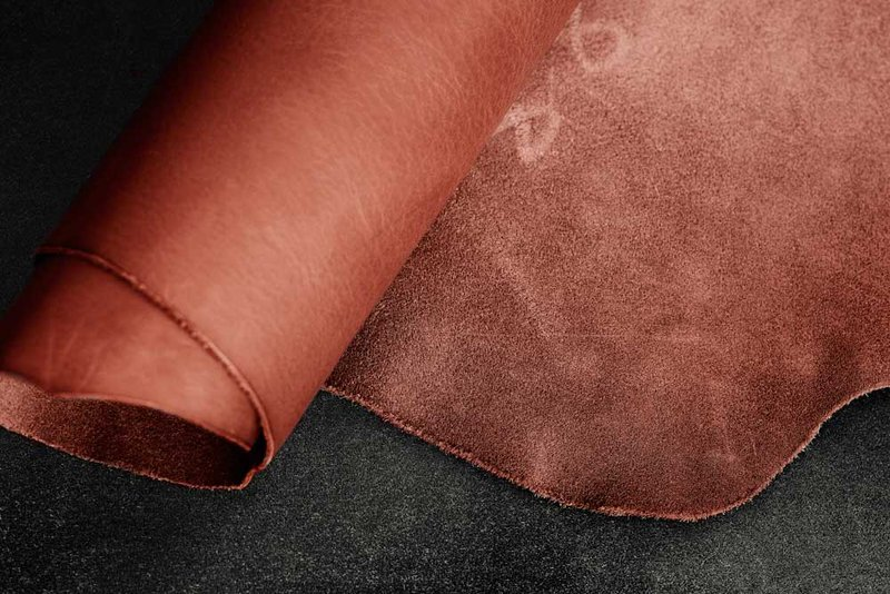 Tooling leather vegetable tanned leather