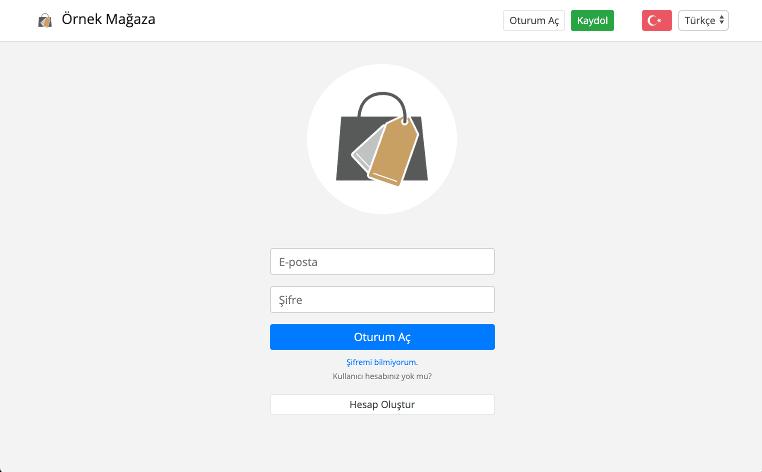 Müşteri Portalı Giriş Sayfası