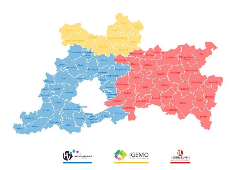 De drie streekintercommunales IGEMO, Haviland en Interleuven slaan hiervoor de handen in elkaar. Met ad hoK staan we meer dan 80 gemeentebesturen bij in het realiseren van ruimtelijke kwaliteit op hun grondgebied.