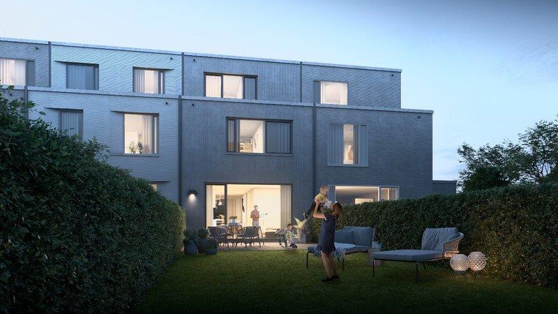 Het gloednieuwe Asperre, een duurzaam en kwalitatief project van IGEMO en Willemen Real Estate.