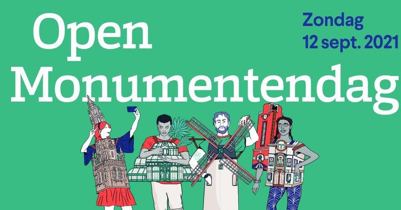 Het campagnebeeld van Open Monumentendag 2021.