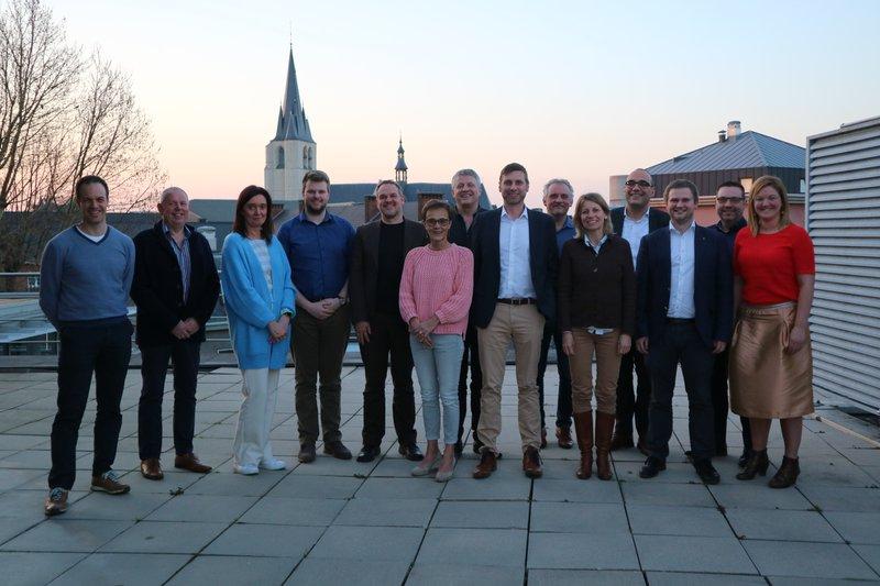 Nieuwe raad van bestuur bevestigt voorzitterschap Ivan Blauwhoff