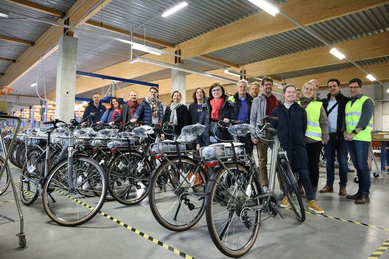 Mobiliteitsspecialisten uit Nederland, Duitsland, Denemarken en Schotland komen samen om duurzame mobiliteitsinitiatieven in landelijke en voorstedelijke gebieden te ontwikkelen, te bespreken en te evalueren.