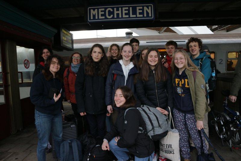 Op maandag 9 maart vertrekken 10 leerlingen, twee leerkrachten van College Hagelstein en één begeleider van IGEMO met het openbaar vervoer naar Sønderborg (Denemarken).
