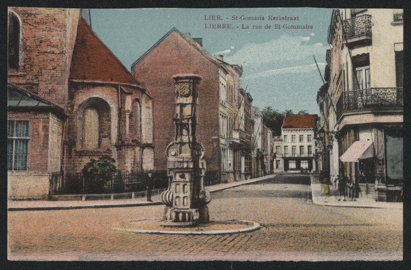 Sint-Gummarusstraat ca. 1900 SLI001008620