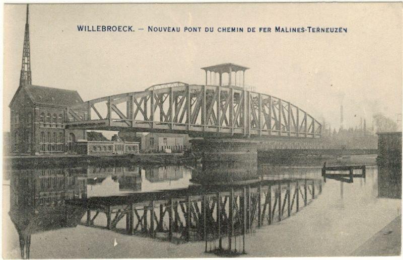 Deze spoorbrug voor de lijn Mechelen-Terneuzen in Willebroek staat in de spotlight op Open Monumentendag.