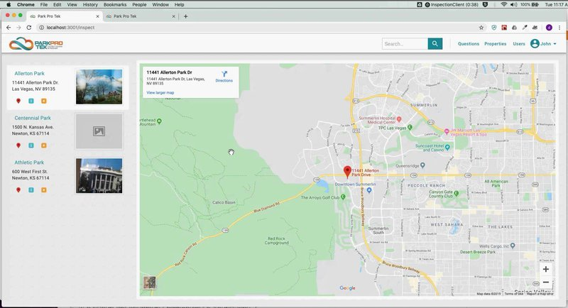 Park Inspection System
