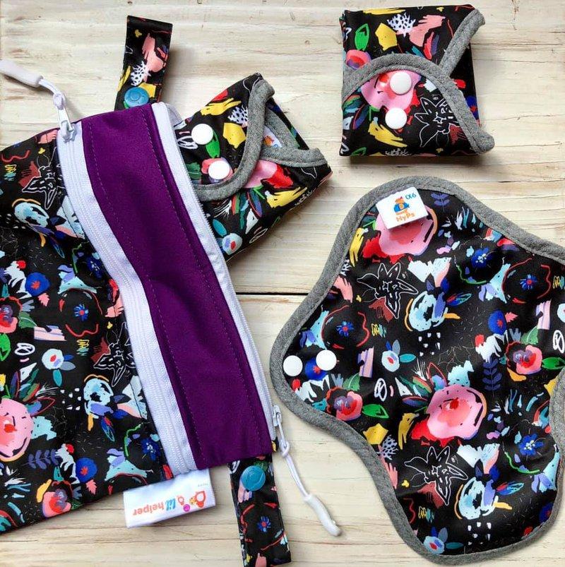 combo bag wetbag reusable cloth pads