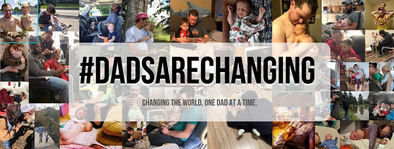 dads are changing facebook group new baby toddler parents