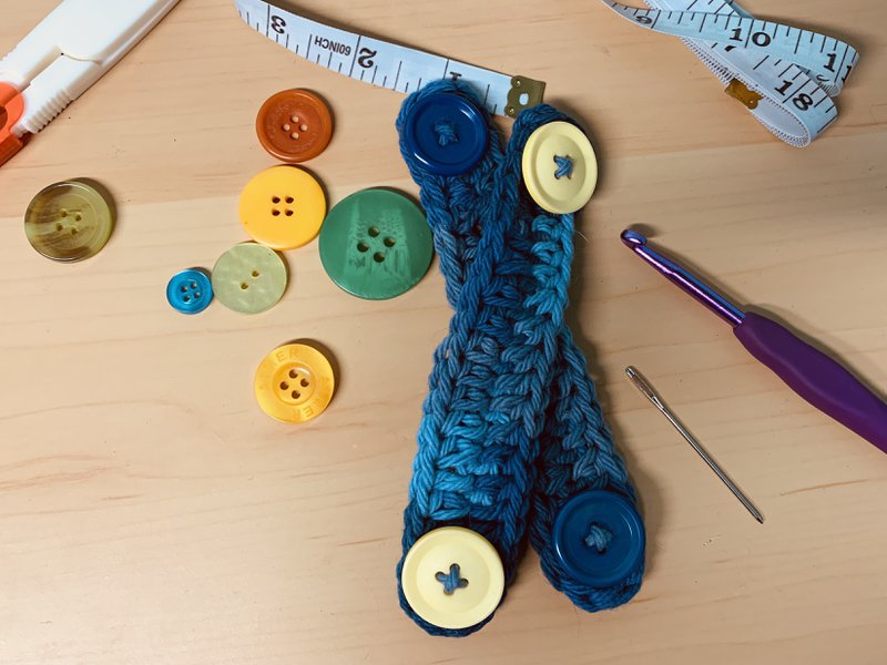 diy crochet ear savers