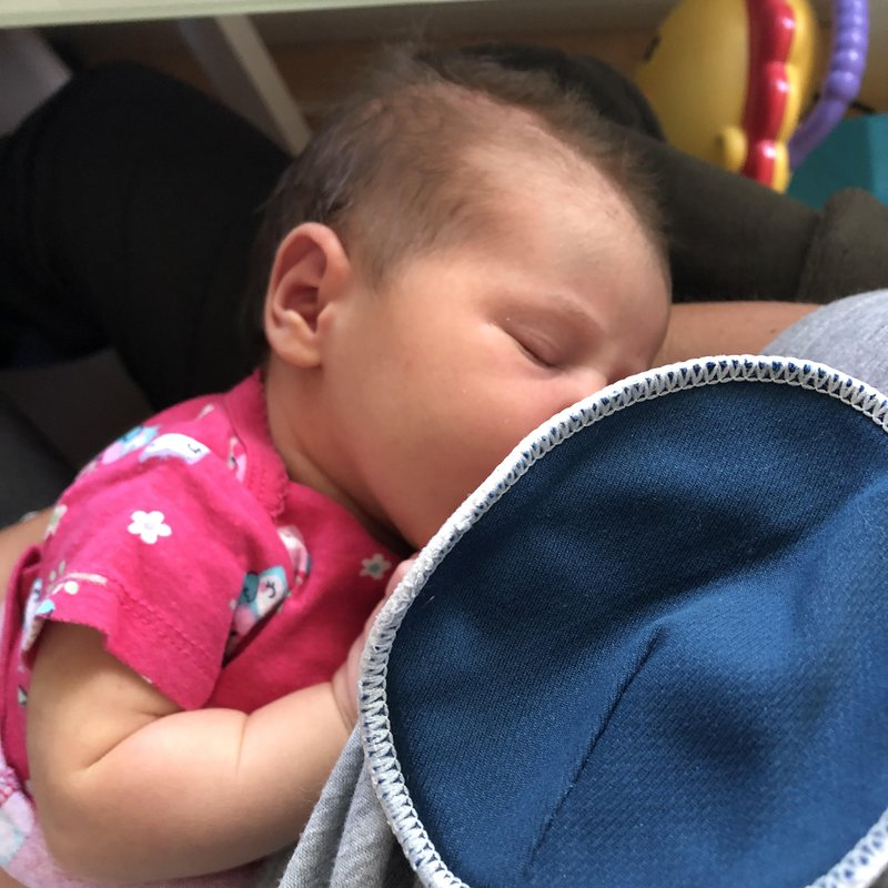 breastfeeding new baby toddler help