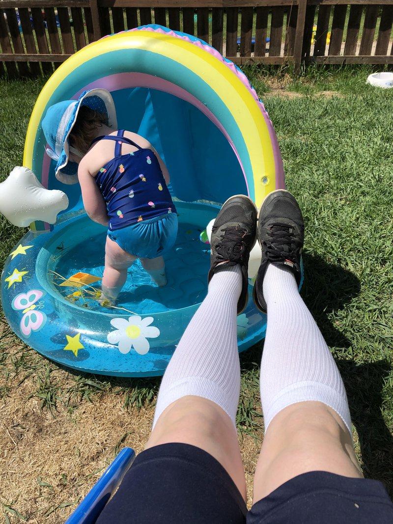 body image summer compression socks varicose veins pregnancy mom life