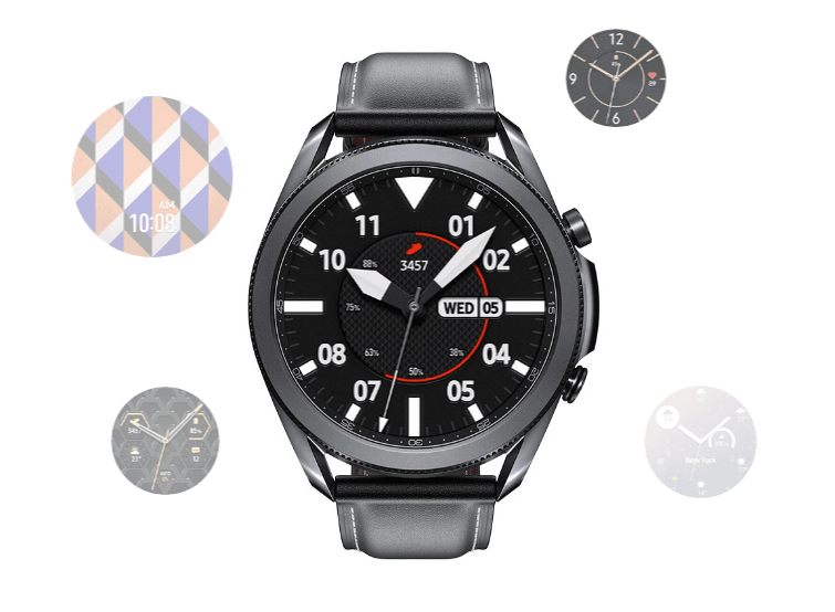 The many faces of the Samsung Galaxy Watch 3