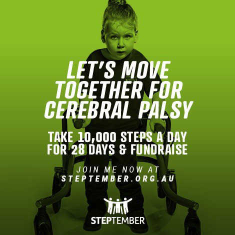 steptember | giving back
