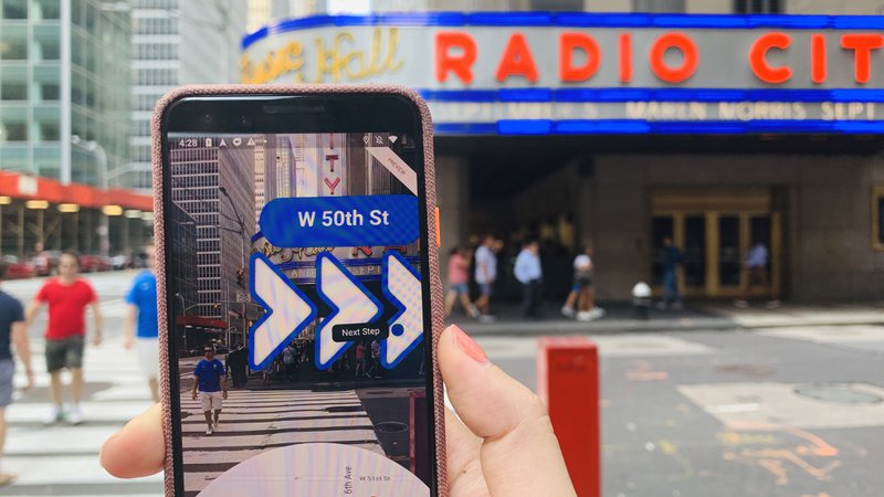 Using Google Maps AR | Fonseka Innovations