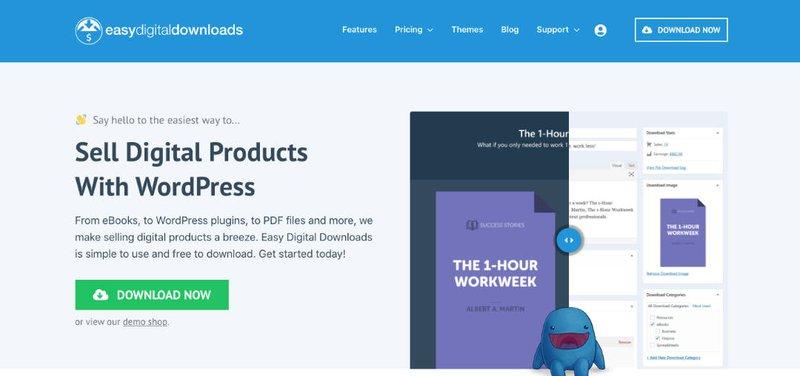 einen WordPress Onlineshop erstellen für digitale Produkte