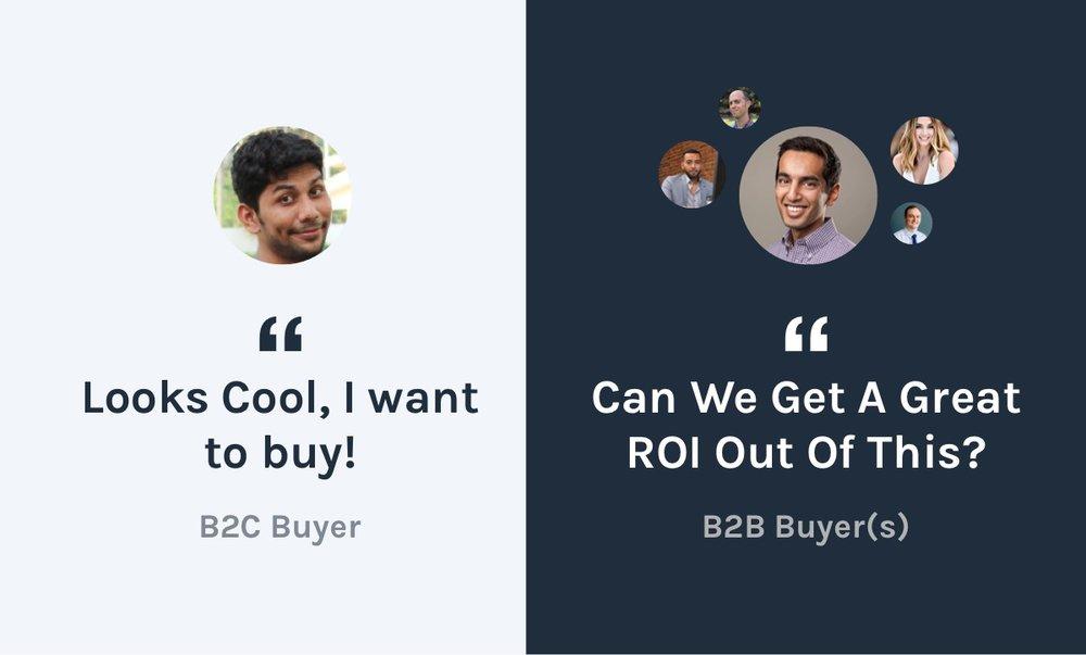 B2B SaaS vs B2C SaaS