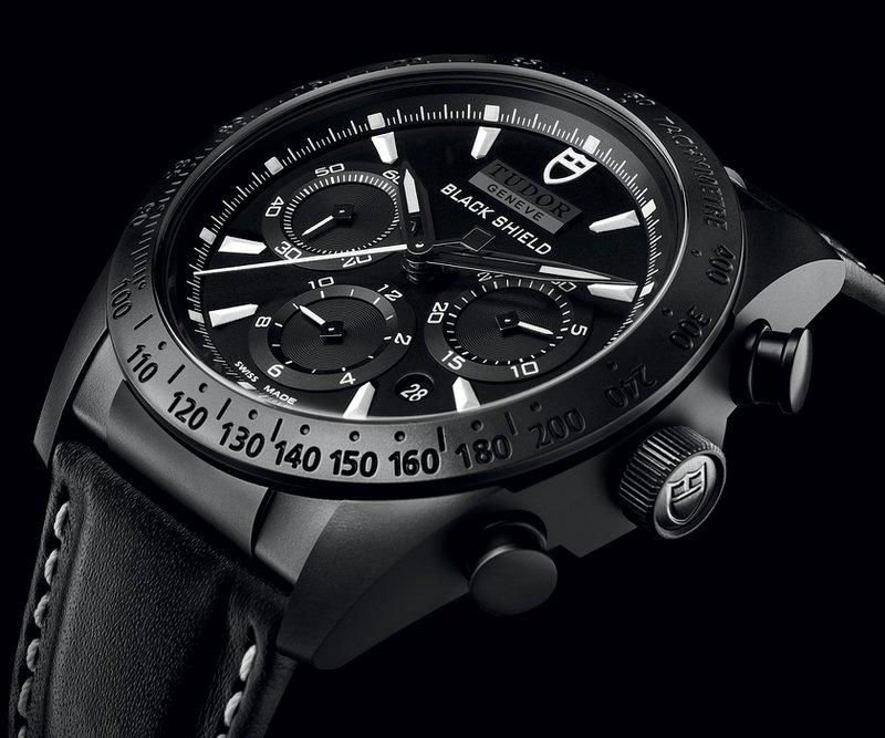 Zwarte horloges: Tudor - Fastrider Black Shield - prijs vanaf € 3.600