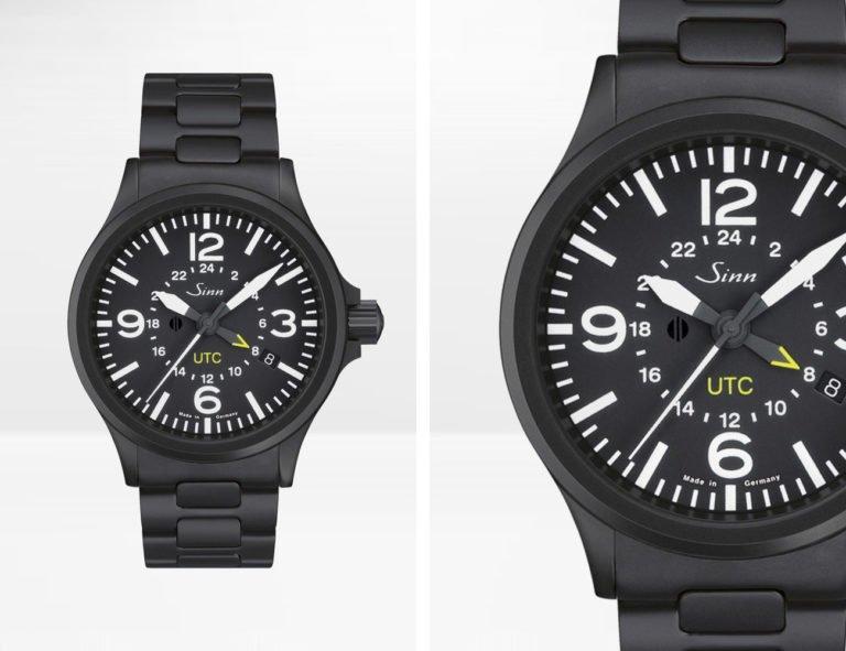 Zwarte horloges: Sinn 856 UTC Black - prijs € 1.869 euro