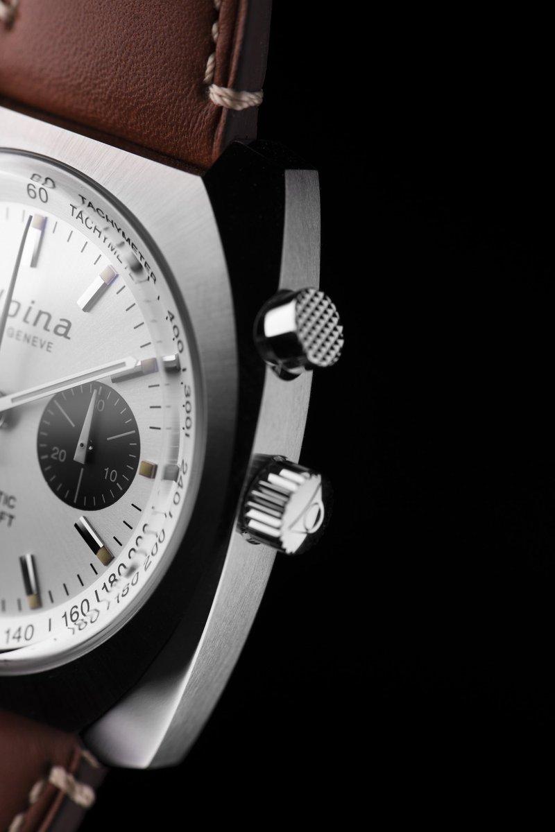 Alpina horloges: Nieuwe toevoeging aan de Pilot Heritage collectie Alpina Startimer Chronograph met single push button